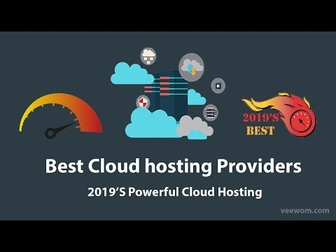 6 Beste cloud-hostingproviders 2019