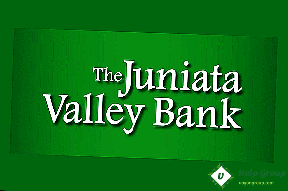 Juniata Valley Bank Preverjanje poslovnih ocen in provizij