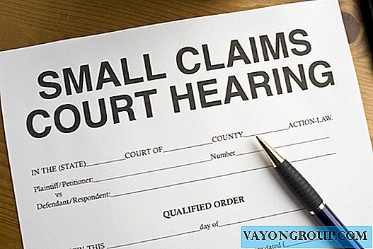 Alles über Small Claims Court